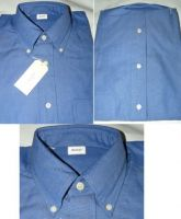 �y���������z��100% OXFORD����B.D.�V���c�@ Dark Blue L�T�C�Y